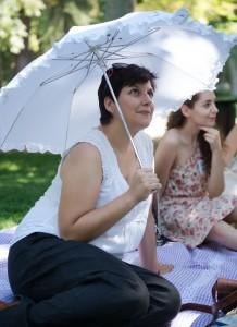 Una dama siempre necesita una sombrilla