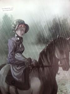 Jane a caballo