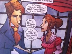 Marvel Tilney y Catherine