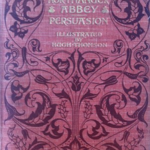 Northanger Abbey & Persuasion, ilustrado por Hugh Thomson